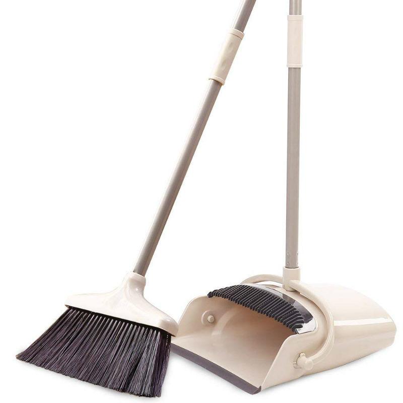 Broom and dustpan target flap disc for aluminum