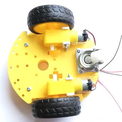 Шасси круглое для колесного робота