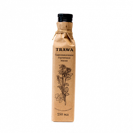 Масло горчичное сыродавленное Trawa, 250 мл