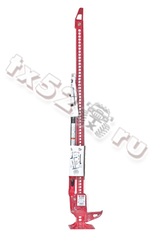 Домкрат реечный HI-LIFT (RED), чугун, 122см.
