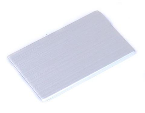 флешка карточка металлическая