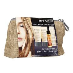 ALTERNA Bamboo Smooth Travel Set - Набор для блеска и гладкости волос
