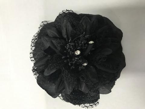 Цветок (черный),.