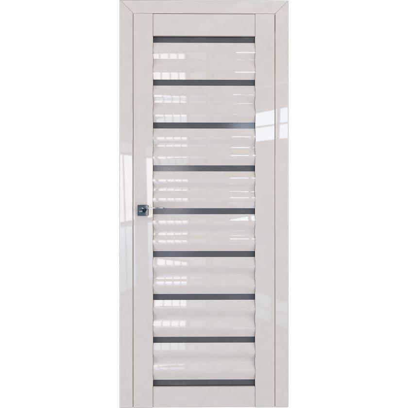 Двери Profil Doors Межкомнатная дверь экошпон Profil Doors 76L магнолия люкс стекло графит 76l-mg-dvertsov.jpg