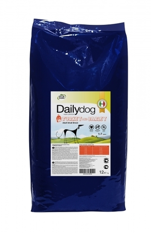 Сухой корм DailyDog Adult Small Breed для взрослых собак мелких пород с индейкой и ячменем 12 кг