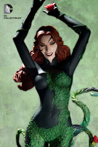 Cover Girls of the DC Universe: Poison Ivy Statue