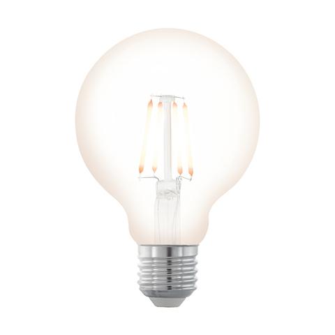 Лампа  LED филаментная диммир. Eglo NORTHERN LIGHTS LM-LED-E27 4W 390Lm 2200K G80 11706