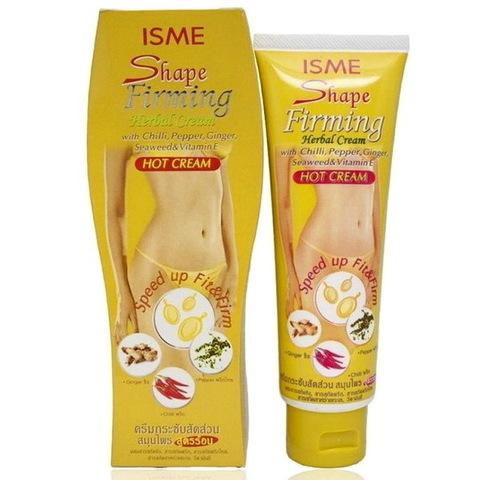 Горячий антицеллюлитный крем ISME Shape Firming Herbal Hot Cream с красным перцем, 120 мл