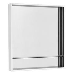 Зеркальный шкаф Aquaton Ривьера 60 белый матовый 1A238902RVX20