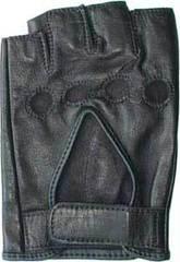 Перчатки водительские Horseshoe Half L1-BK