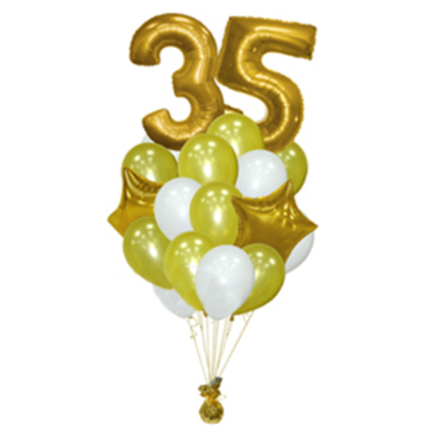 shop-shariki.ru фонтан из шаров на 35 лет