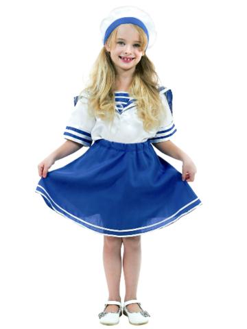 Карнавальный костюм детский Морячка