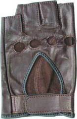Перчатки водительские Horseshoe Half L1-BR