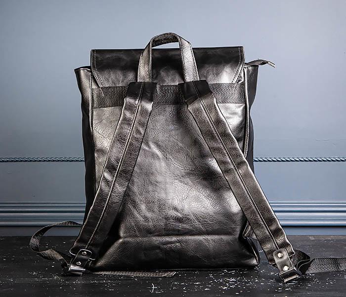 BAG532-1 Стильный мужской рюкзак из искусственной кожи фото 07