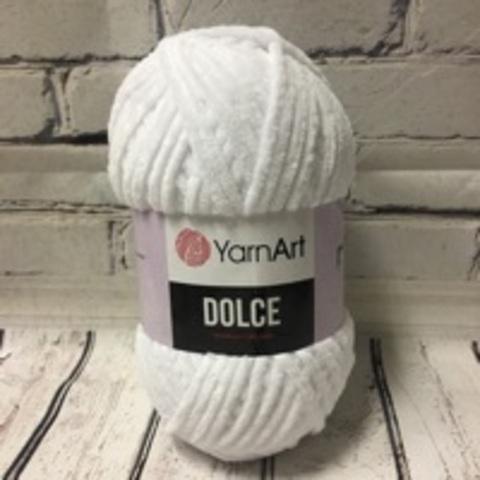 Пряжа Dolce YarnArt - (741-белый)