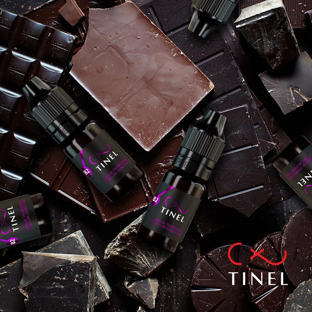 Пигмент Тинель B2 Темный шоколад
