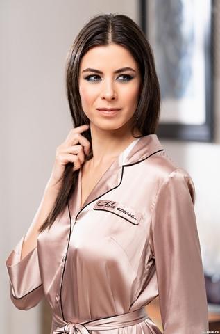 Рубашка халат на пуговицах MIA-Amore GABRIELLA Габриэлла 3667
