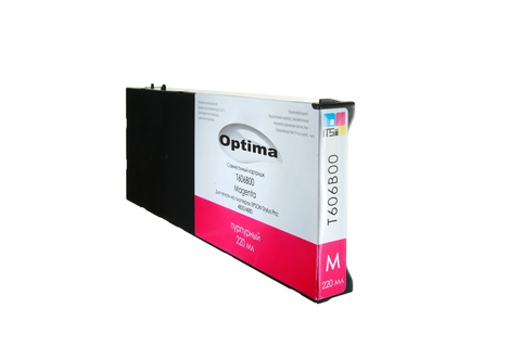 Картридж Optima для Epson 4900 C13T653300 Vivid Magenta 200 мл