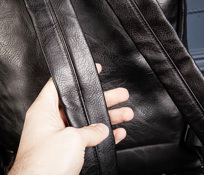 BAG532-1 Стильный мужской рюкзак из искусственной кожи фото 08