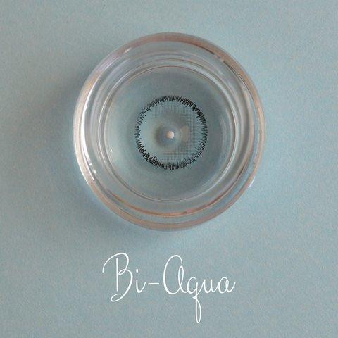 Серо-голубые итальянские цветные линзы с диоптрией  ADORE Bi - Tone Aqua