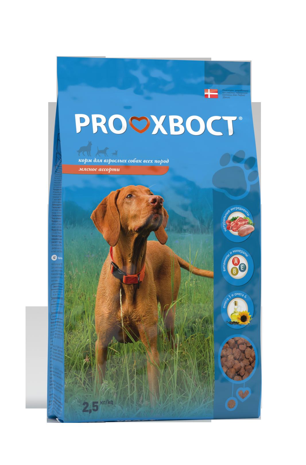 ProХвост Корм ProХвост для собак мясное ассорти Prohvost_dog_meat_assorty_2500_g.png