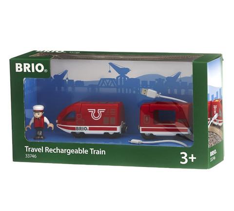 BRIO Скоростной поезд на аккумуляторе (движвперед, назад с USB подзарядкой)