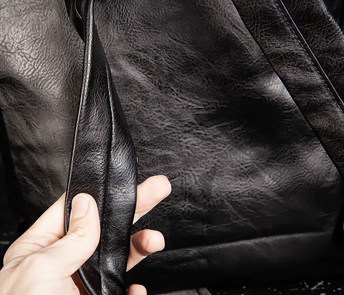 BAG532-1 Стильный мужской рюкзак из искусственной кожи фото 09