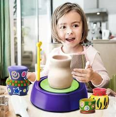 Набор детский гончарный круг pottery whell