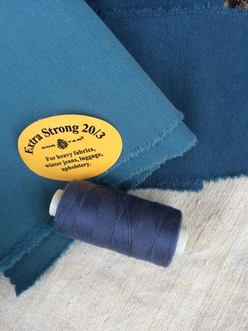 Нитки джинсовые Dor Tak Extra Strong, 401, джинсовый
