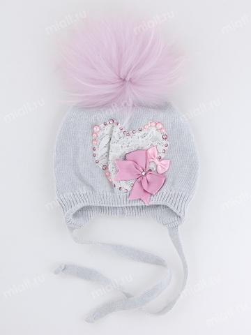 Зимняя шапка для девочки Mialt Анна-Мария