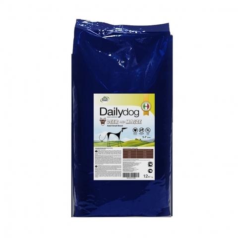 Сухой корм DailyDog Adult Small Breed Deer and Maize для взрослых собак мелких пород с олениной и кукурузой 12 кг