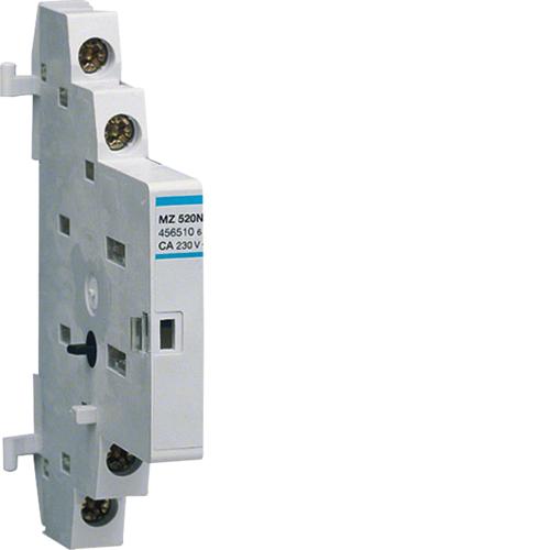 Дополнительный контакт сигнализации переключения,1НЗ+1НО, 3.5А 230В АС, 2A 400В АС, 0.5M
