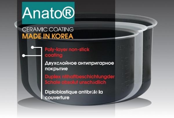 Чаша с керамическим покрытием Redmond RIP-C2 5 литров