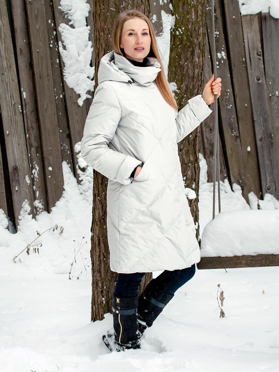 Joutsen пуховик Laulu серебро - Фото 1