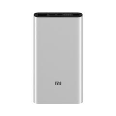 Аккумулятор Xiaomi Mi Power Bank 3 10000 (PLM12ZM) серебристый