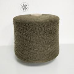 Lanecardate, Canberra, Шерсть ягненка 100%, Сероватый оливково-зеленый, 1/15.5, 1550 м в 100 г