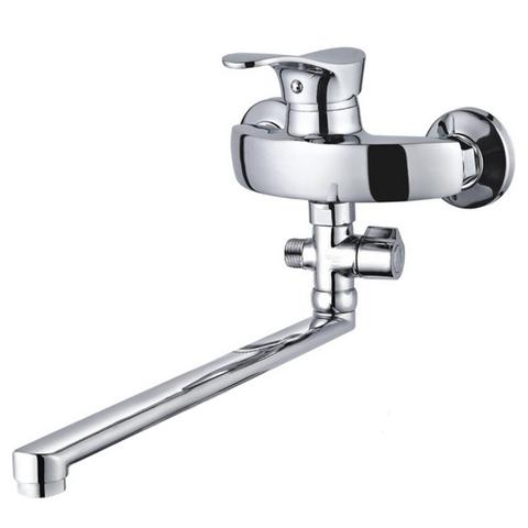Смеситель для ванной однорычажный Zegor EYB-A с поворотным изливом