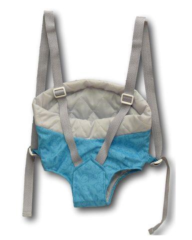 Рюкзак-кенгуру - Бирюзовый. Одежда для кукол, пупсов и мягких игрушек.