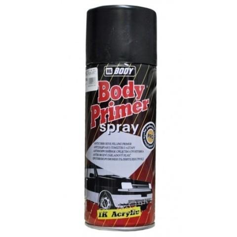 Body Краска текстурная для бампера черная  400мл (спрей)