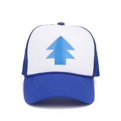 Кепка Gravity Falls (Бейсболка Гравити Фолз) сине-белая