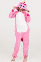 """Детская пижама-кигуруми """"Единорог розовый"""""""