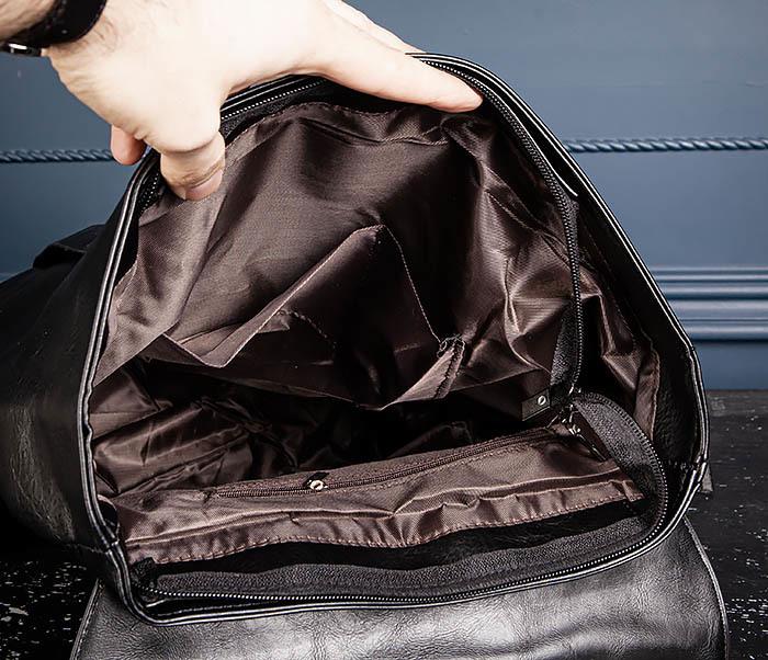 BAG532-1 Стильный мужской рюкзак из искусственной кожи фото 12