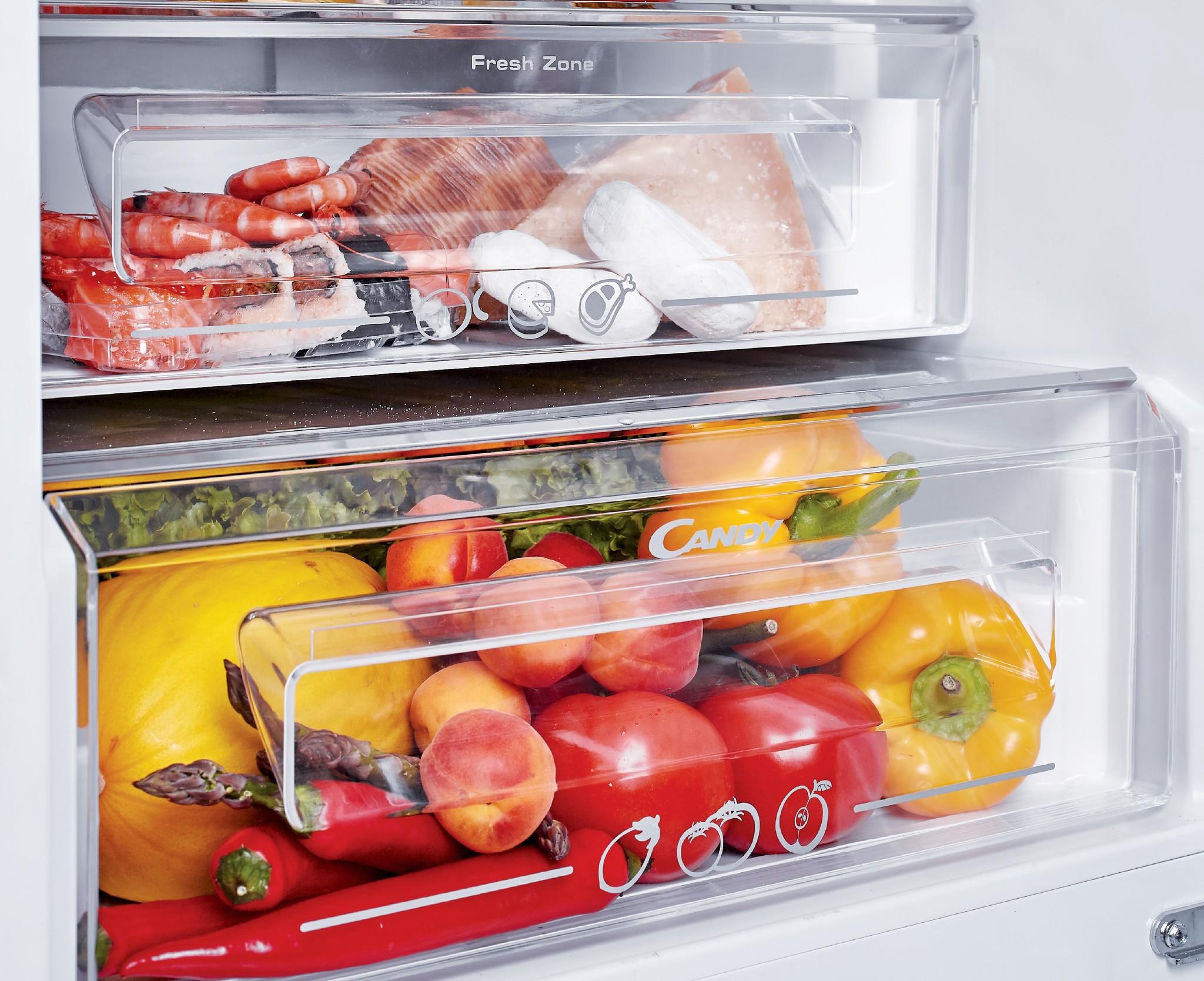 Встраиваемый холодильник Candy CKBBS182FT фото 5