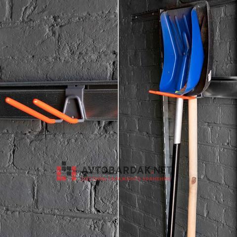 Крепление для подвеса лопат и грабель
