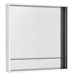 Зеркальный шкаф Aquaton Ривьера 80 белый матовый 1A239102RVX20