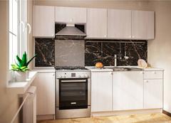 Кухонный гарнитур Ронда 2,4 м цвет: Ясень Анкор светлый
