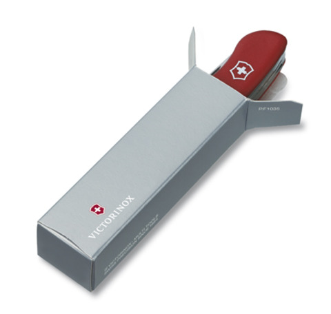 Нож Victorinox Sentinel One Hand, 111 мм, 4 функции, с фиксатором лезвия, черный
