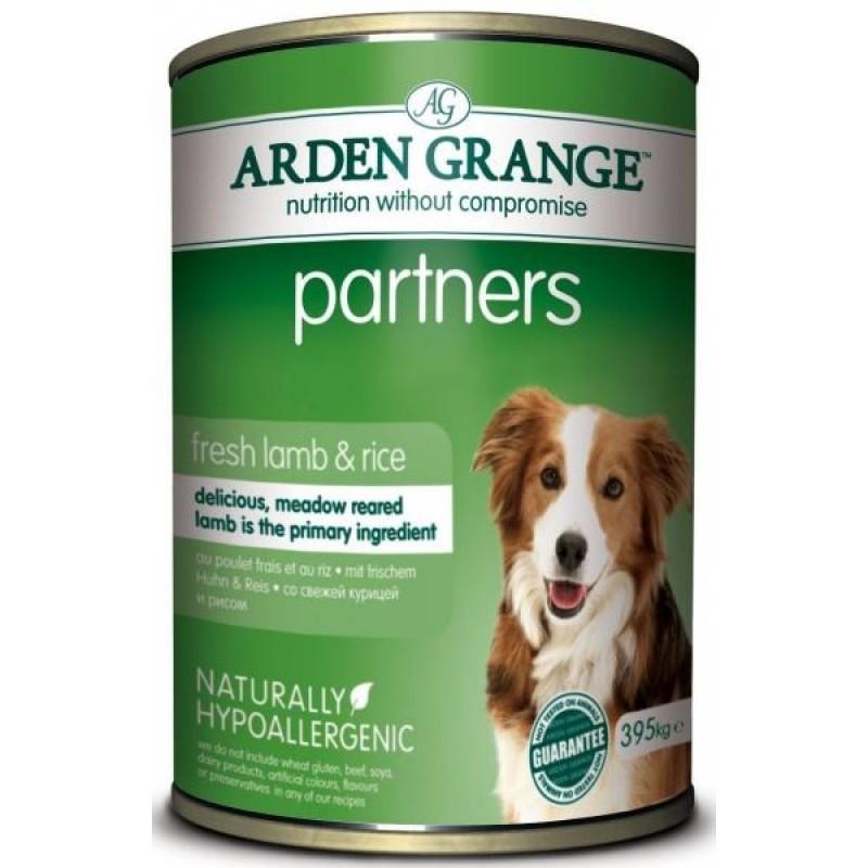 Каталог Консервированный корм для собак, Arden Grange Partners Lamb & Rice, с ягненком, рисом и овощами AG820011.jpg