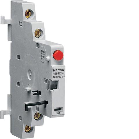 Сигнальный контакт сигнализации аварийгого отключения (по перегрузке, по аварии), 2НО, 3.5A 230В АС или 2А 400В АС, 0.5M