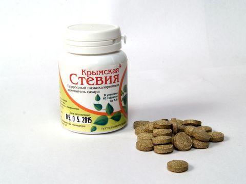 Крымская стевия стевия таблетированная 60шт